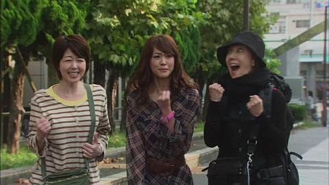 Hunter , 桐谷美玲,堀内敬子,戸田恵子